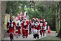 TQ8110 : Santa Fun Run, Alexandra Park by Oast House Archive