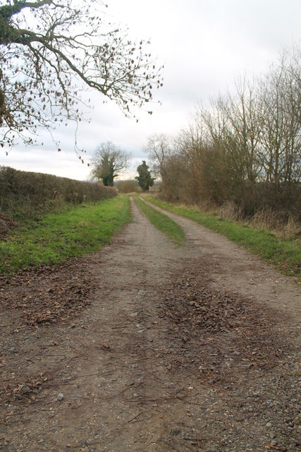 Farm Track at the end of Silver Street