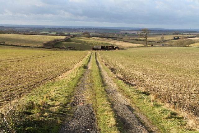 Farm track off A153