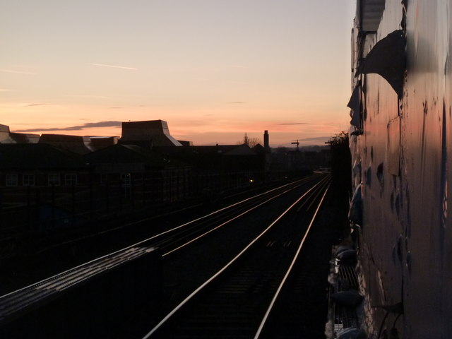 View from Foregate Street Station, Worcester