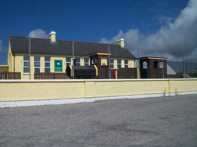 St Columba's National School, Acres, near Burtonport