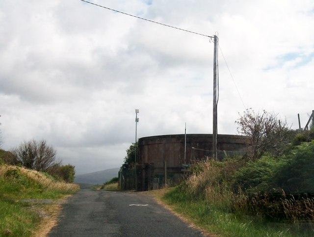 Covered reservoir in the Drimlaghdrid Townland