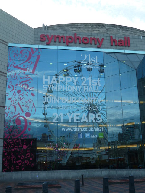 Symphony Hall - 21 years young