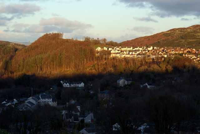 Inverkip and Idzholm Plantation