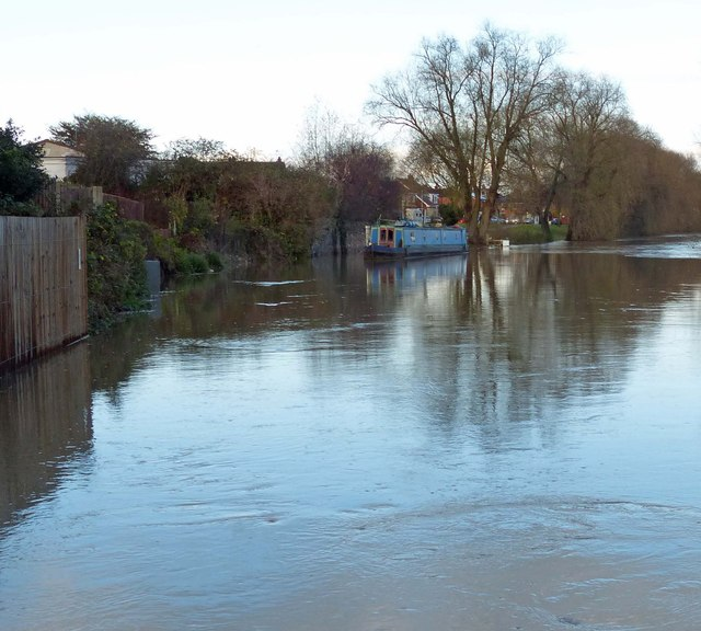 Flooding along the River Soar/Grand Union Canal