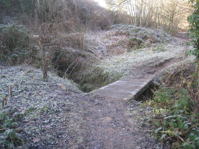 Footbridge over a burn