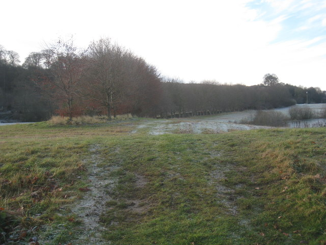 Between the gravel pits