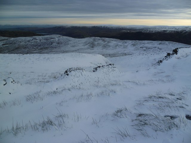 Ascending Birkett Fell