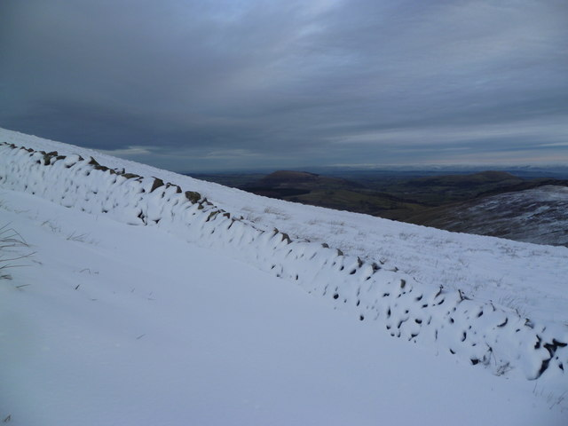 Wall on Birkett Fell