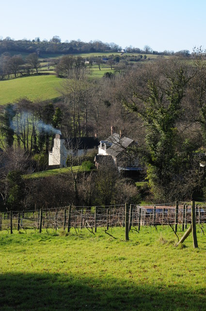 Houses in theMonnow valley