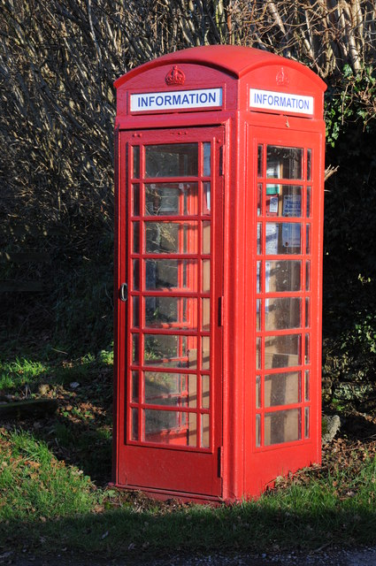 No longer a phone box