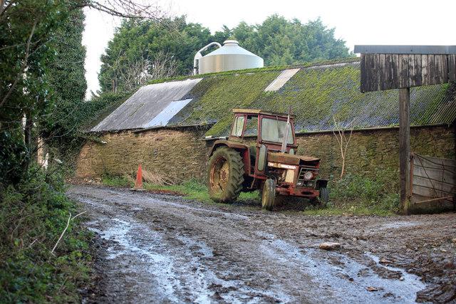 Old Tractor Talvan