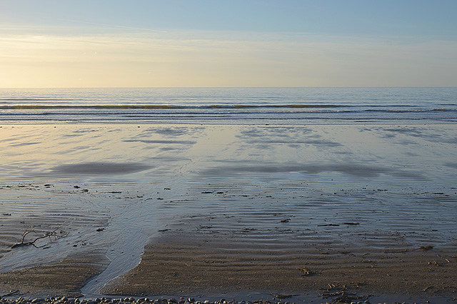 Late afternoon in December, Ynyslas Beach
