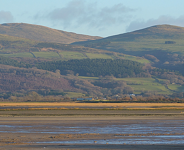 The southern edge of Traeth Maelgwyn