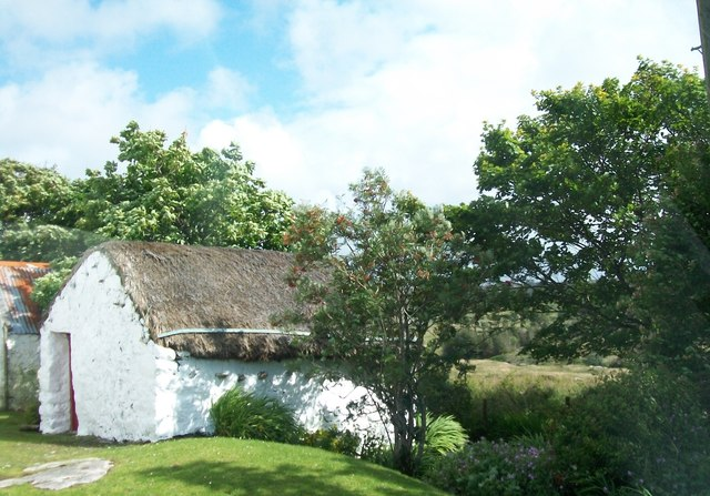 Thatched outbuilding at Derrydruel
