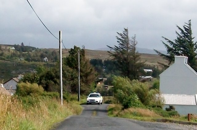 Doing a house check at Derrydruel