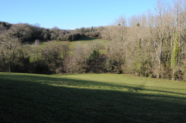 Valley near Bannut Tree Farm, Kentchurch