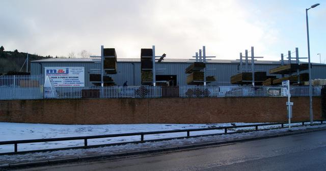 M & J builders yard