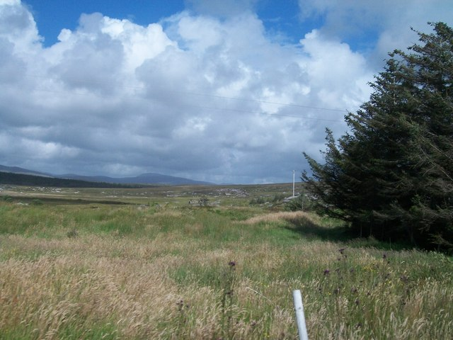Moorland below Drumlaghdrid Hill