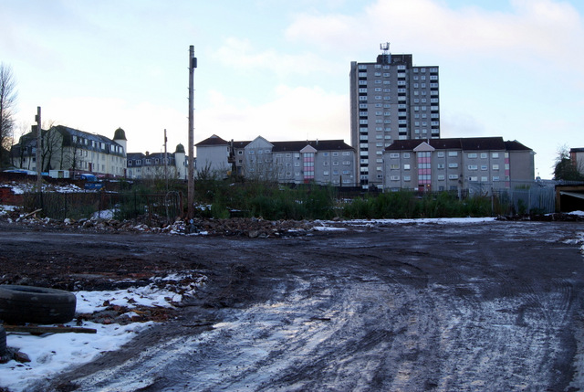 Gap site at Mearns Street