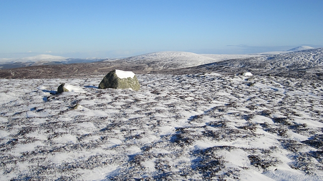 Summit area, Dog Hillock