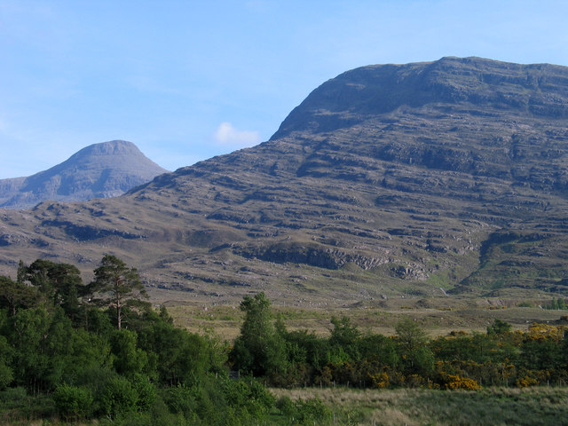 Scrubland at head of Upper Loch Torridon