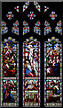 TL6669 : St Margaret, Chippenham - Stained glass window by John Salmon