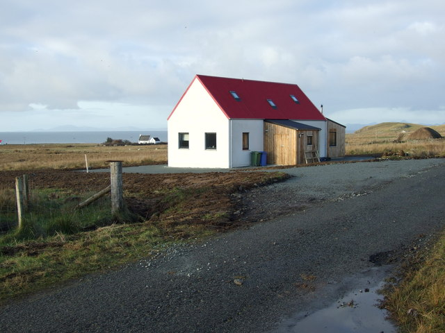 New build in Bornesketaig
