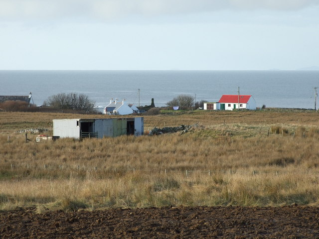 Croft building at Bornesketaig