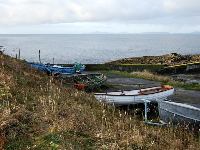 Boats at Camas Mòr