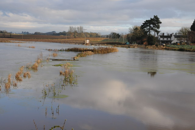 Flooding at Sandford Villa Farm