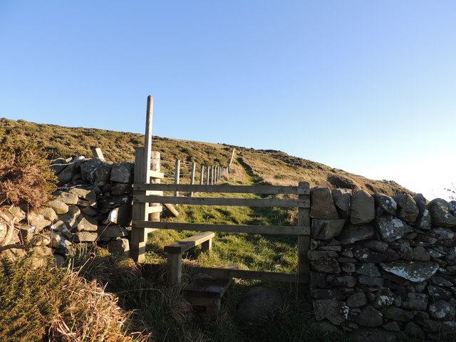 Stairhaven Coastal Path Stile