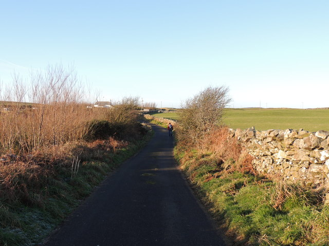 Road to Milton near Challochmunn