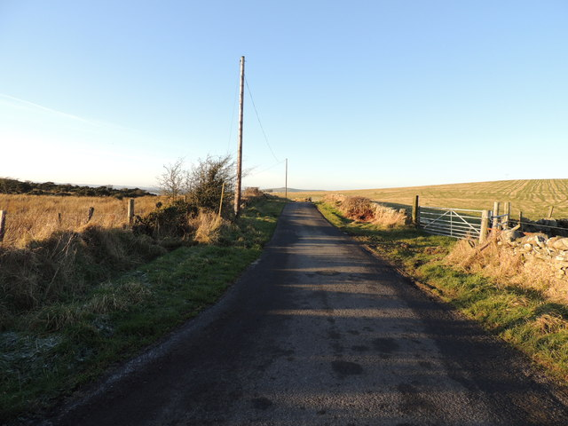 Road to Milton near Drumugerdy Hill