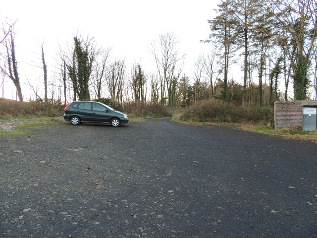 Car Park at Whitefield Loch