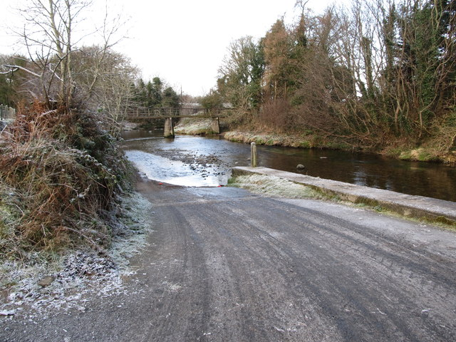 The ford across the Bann