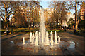 TQ3081 : Russell Square fountain by Richard Croft