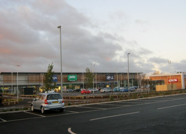 Bishop Auckland Shopping Park at Tindale Crescent