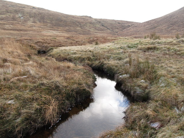 The upper reaches of the Rowan Tree River