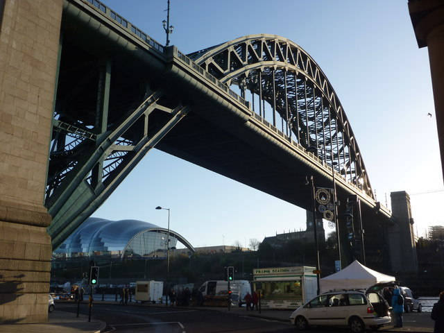Newcastle Architecture : New Tyne Bridge