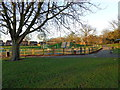 SE4219 : The Children's Play Area, Purston Park by Bill Henderson