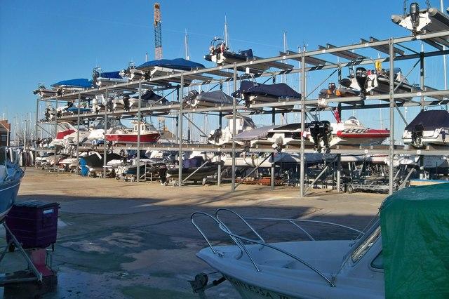 Boat Park-Gosport Marina