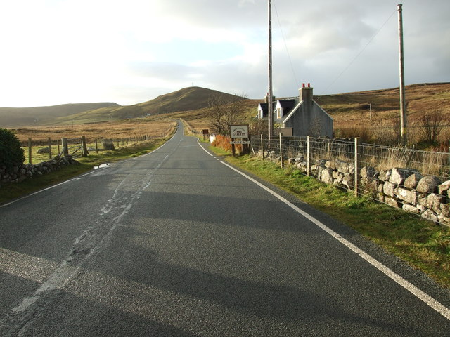 The A855 at Solitote