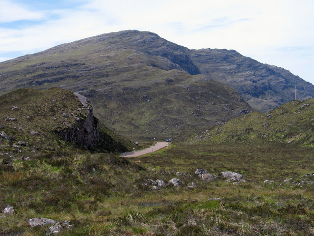 Road through Glen Torridon