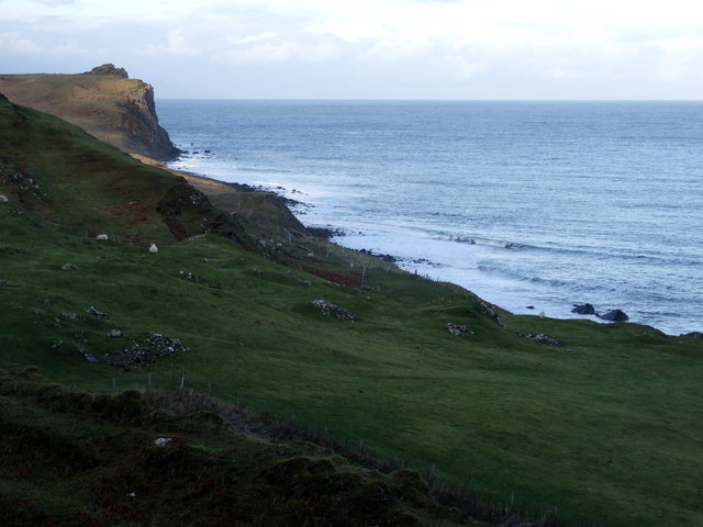 Coastline at Flodigarry