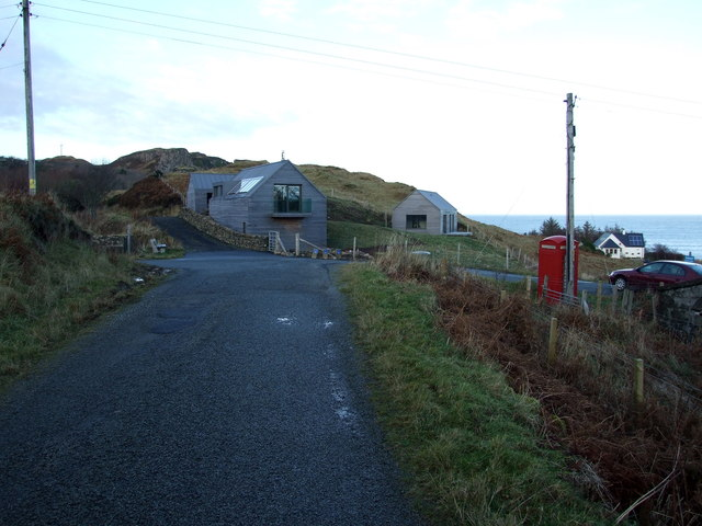 New houses at Flodigarry