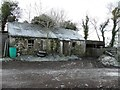 H4065 : Ruined cottage, Glennan by Kenneth  Allen