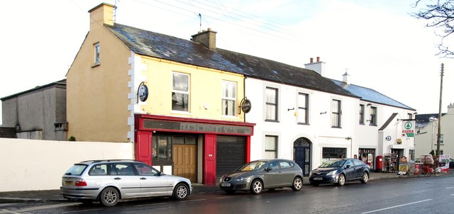 O'Rooney's Bar in Main Street, Hilltown
