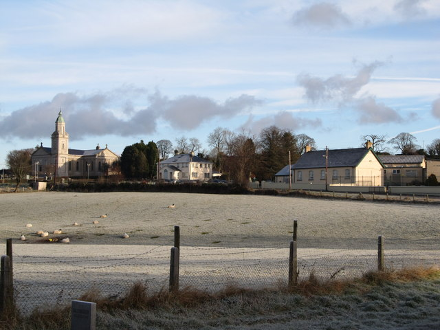St John the Evangelist Church, the Parochial House and St Patrick's Primary School, Castlewellan Road, Hilltown