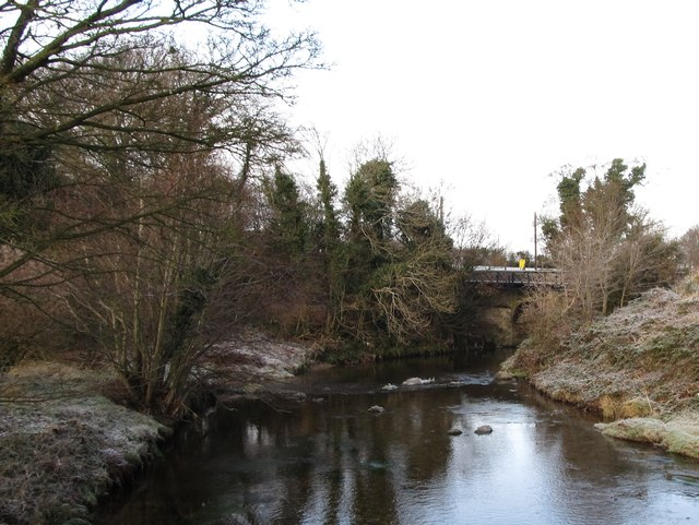 The Bann at its confluence with the Leitrim